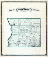 Waterloo Township, Fayette County 1875